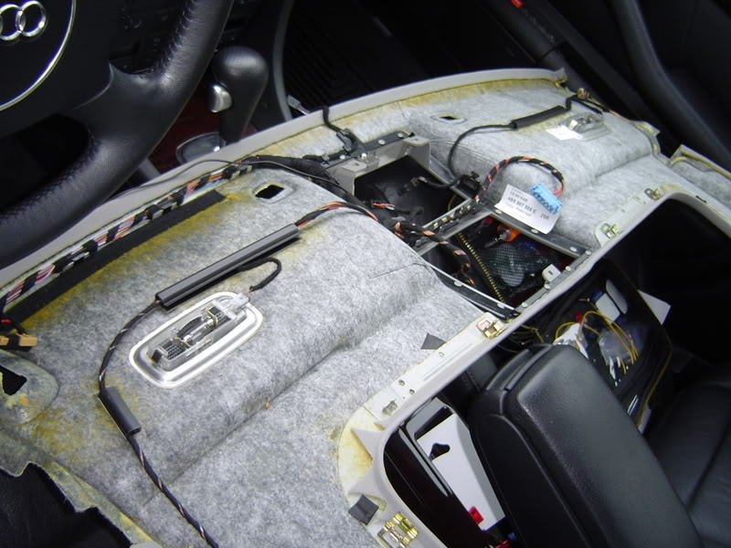 Audi A6 C5 And A6 C6 How To Remove The Headliner