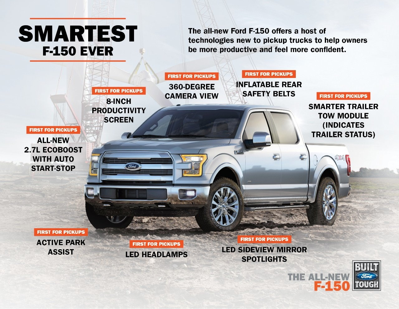 new ford f 150 commercials to debut tomorrow carsdirect. Black Bedroom Furniture Sets. Home Design Ideas