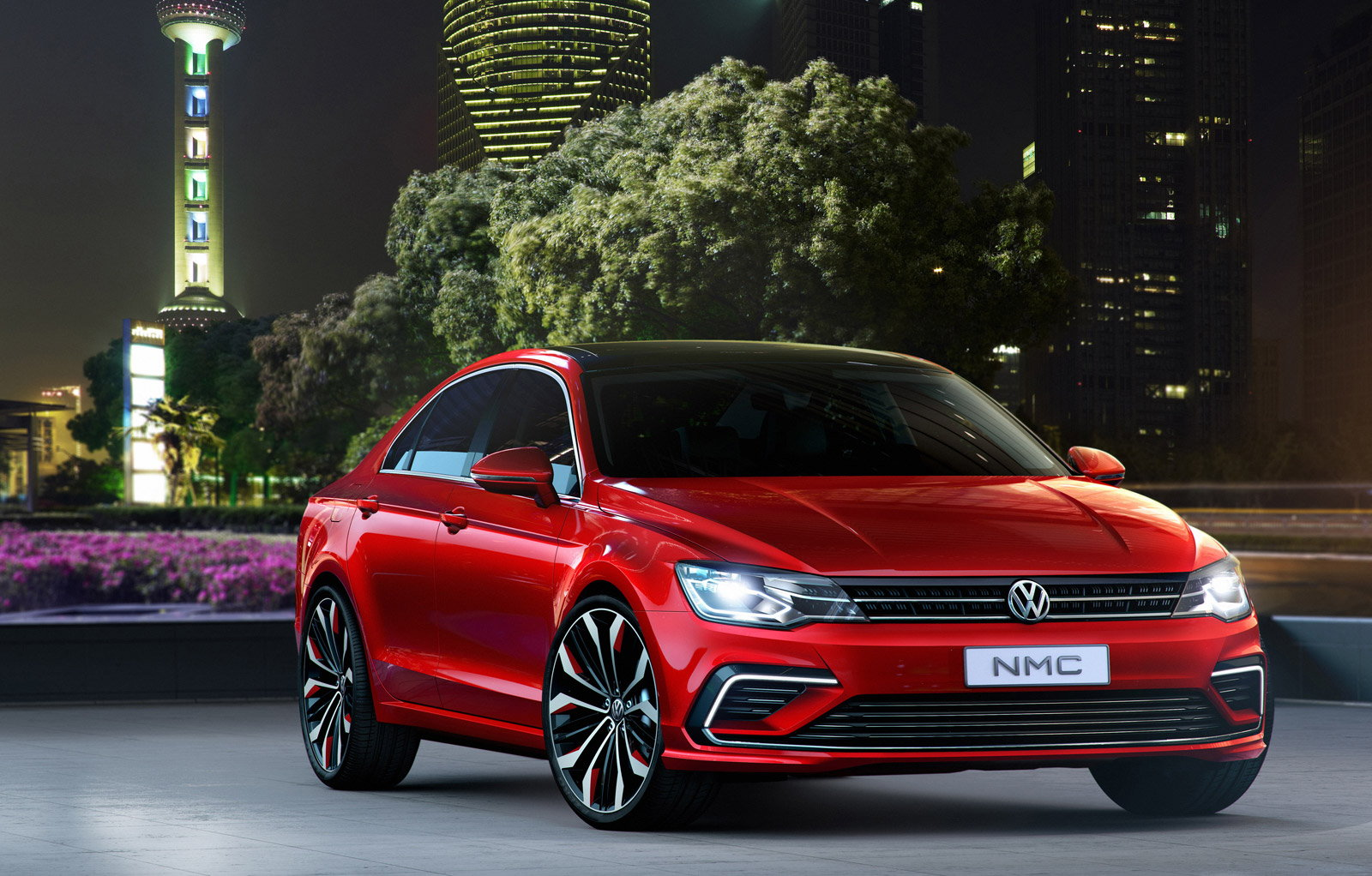 Volkswagen Jetta Front