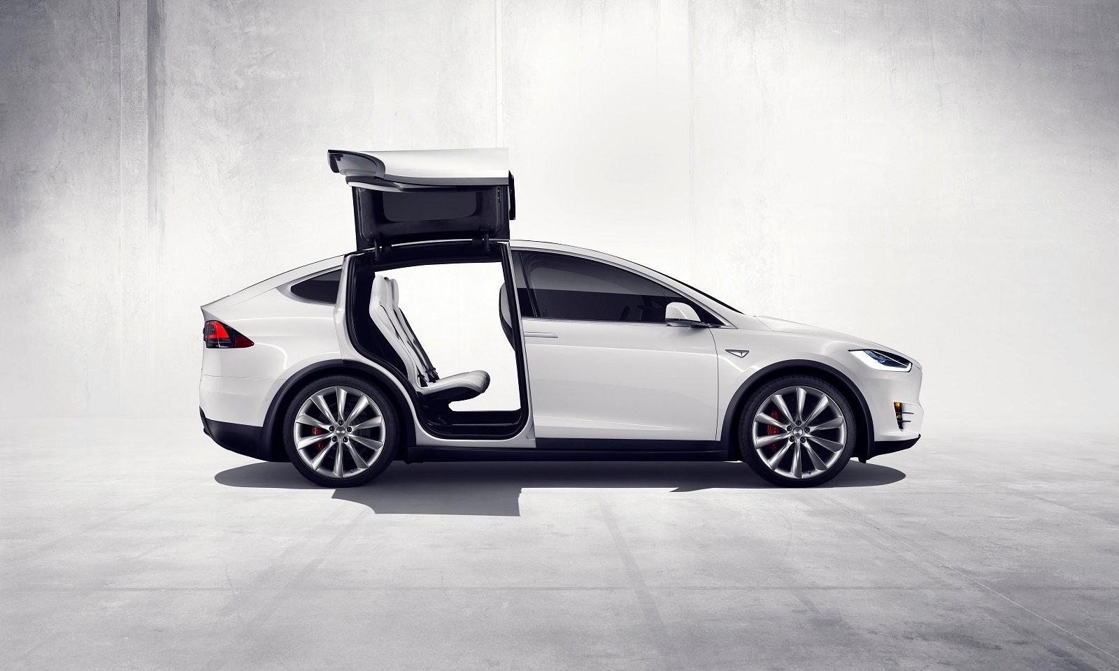 Tesla Model X Profile Doors