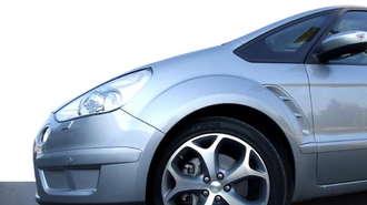 Hybrid Car Closeup