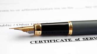 Car Factory Warranty Certificate