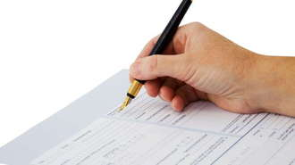 Completing Change of Ownership Form