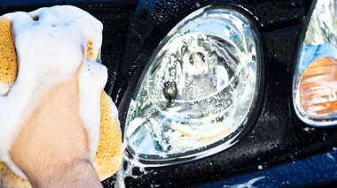 Headlight Lens Cleaning