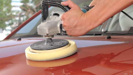 Applying Car Wax