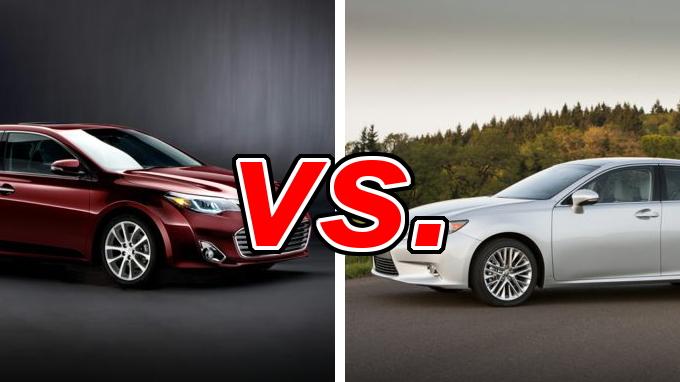 Nissan Columbus Ohio >> Toyota Avalon vs. Lexus ES 350 - CarsDirect