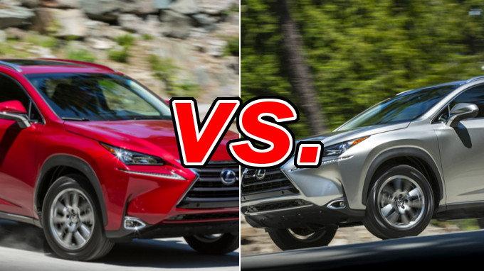 Nissan Rogue Vs Murano >> Lexus NX 300h vs. Lexus NX 200t - CarsDirect