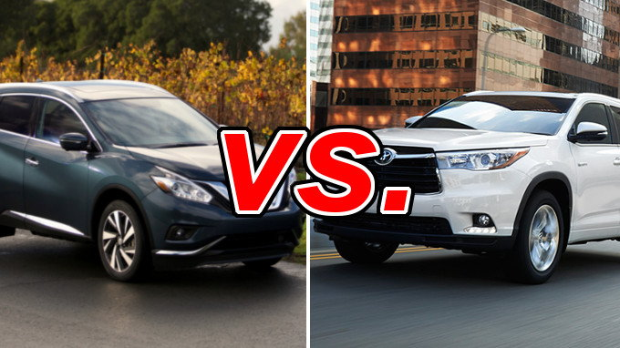 Subaru Outback Vs Forester >> Nissan Murano vs. Toyota Highlander - CarsDirect
