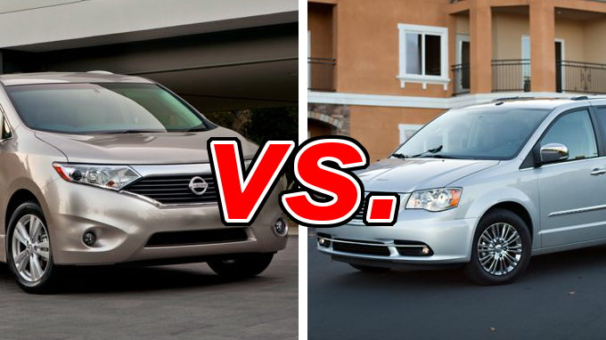Nissan Rogue And Murano Comparison Nissan Quest vs. Chrysler Town & Country - CarsDirect