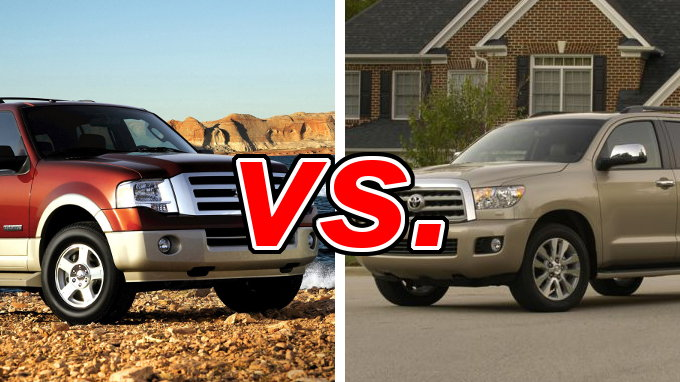 ford expedition vs toyota sequoia carsdirect. Black Bedroom Furniture Sets. Home Design Ideas