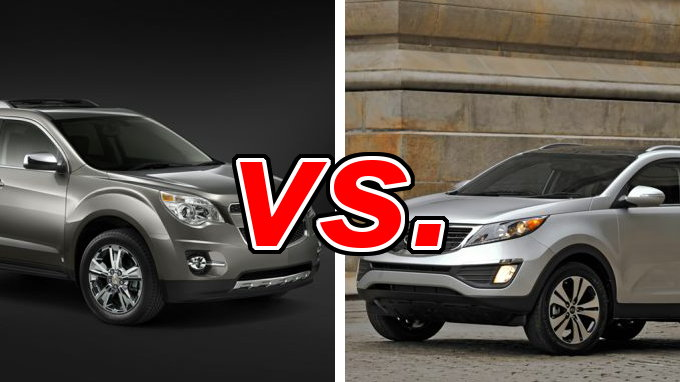 chevrolet equinox vs kia sportage carsdirect. Black Bedroom Furniture Sets. Home Design Ideas