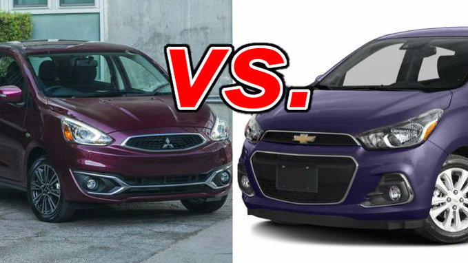 Mitsubishi Mirage Vs. Chevrolet Spark