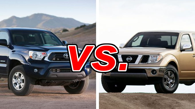 Toyota Tacoma Vs Nissan Frontier Carsdirect