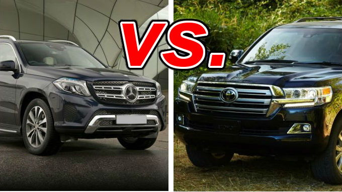 Mercedes benz gls450 vs toyota land cruiser carsdirect for Used mercedes benz gls450