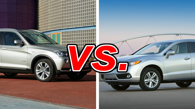 Bmw X3 Vs Acura Rdx Carsdirect