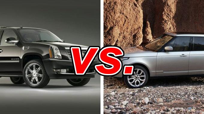 Cadillac Escalade vs. Range Rover - CarsDirect