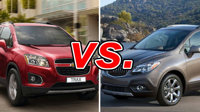 chevrolet trax vs buick encore carsdirect. Black Bedroom Furniture Sets. Home Design Ideas