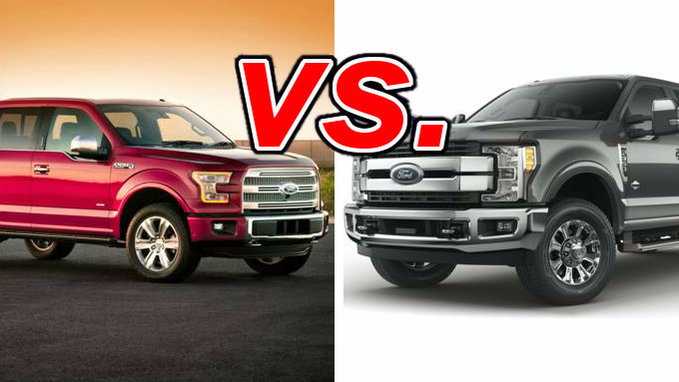 Ford F-150 vs. Ford F-250 - CarsDirect
