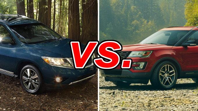 Used Cars Tucson >> Nissan Pathfinder vs. Ford Explorer - CarsDirect