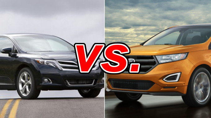 Ford Edge Vs Nissan Rogue >> Toyota Venza vs. Ford Edge - CarsDirect
