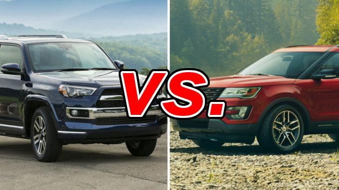 Used 4runner For Sale >> Toyota 4Runner vs. Ford Explorer - CarsDirect
