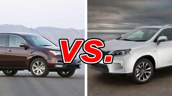 Highlander vs rx 350 autos post for Infiniti qx60 vs honda pilot