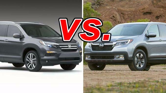 Honda Pilot Vs Subaru Outback >> Honda Pilot vs. Honda Ridgeline - CarsDirect