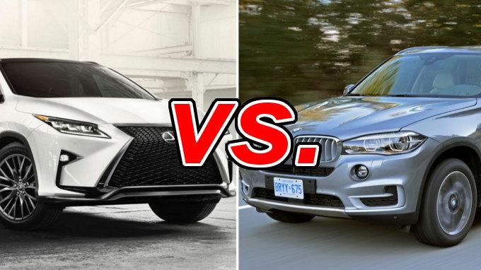Murano Vs Rogue >> Lexus RX 350 vs. BMW X5 - CarsDirect