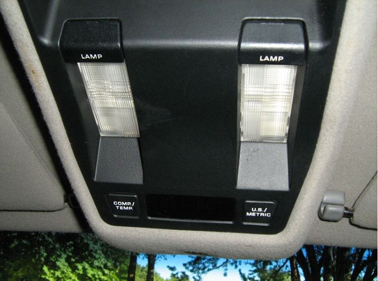 Jeep Cherokee 1984 2001 How To Replace Dome Light