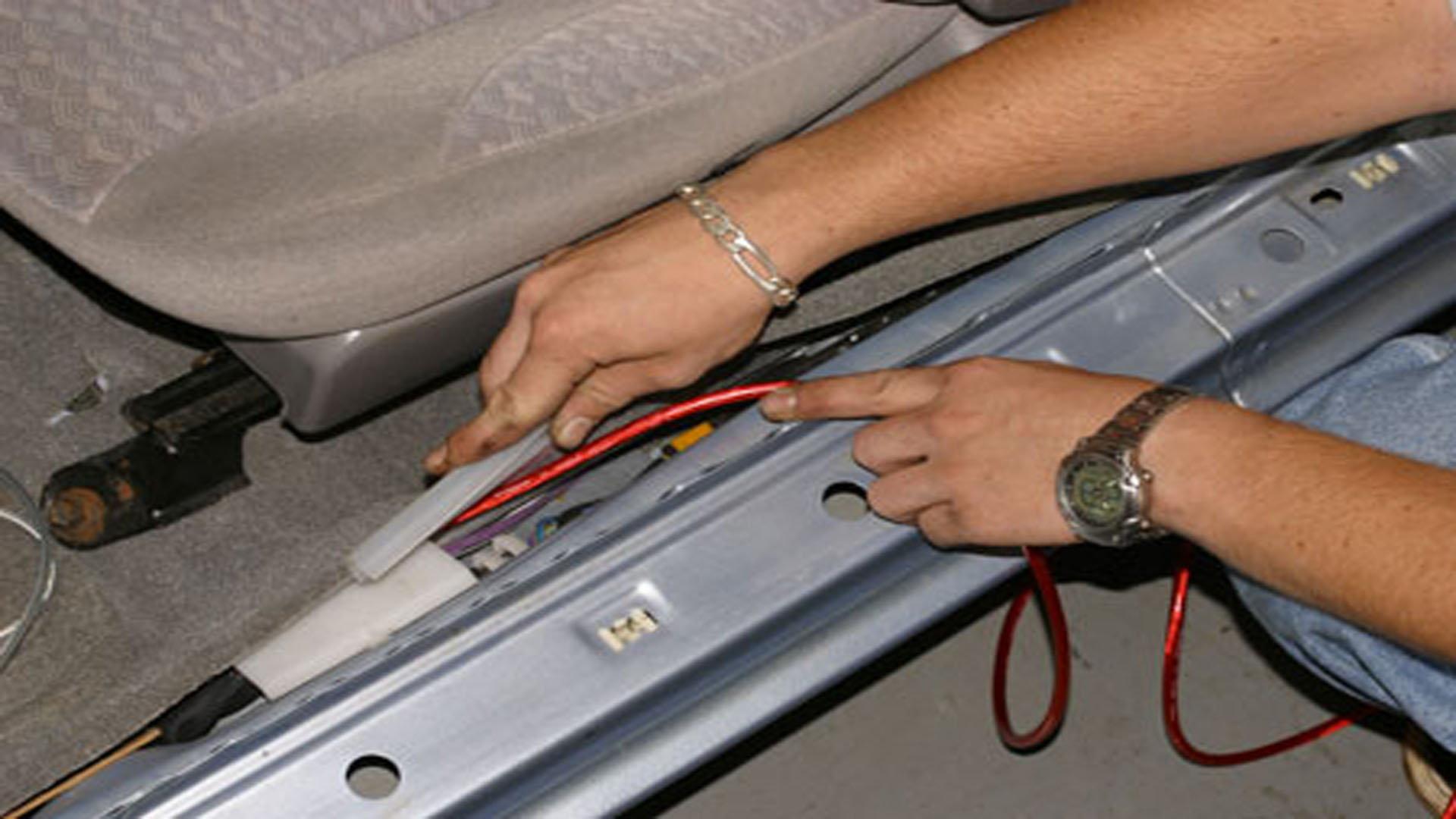 C6 Corvette How To Install Rear Subwoofer Corvetteforum