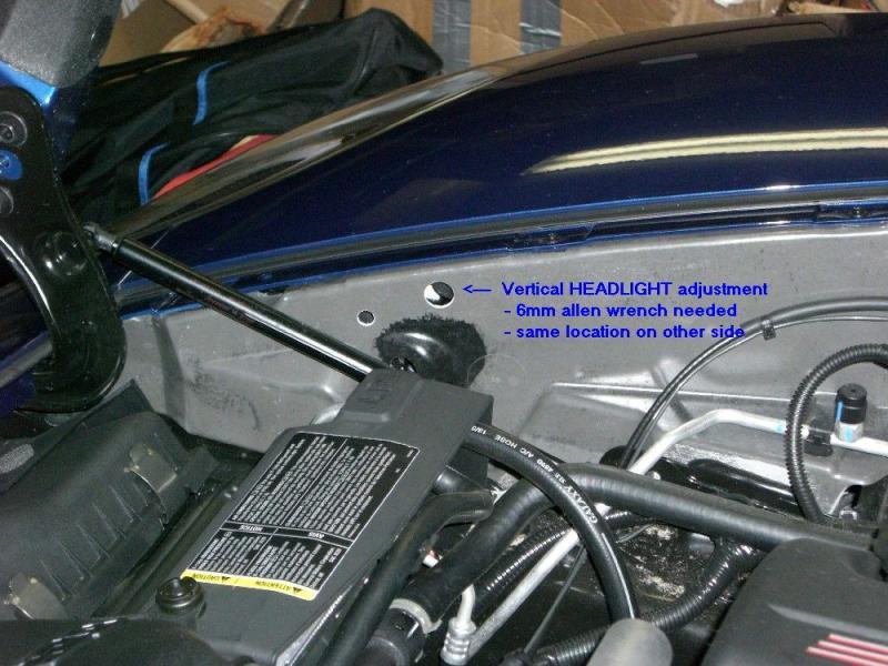 Headlightadjuster on C5 Corvette Headlight Adjustment