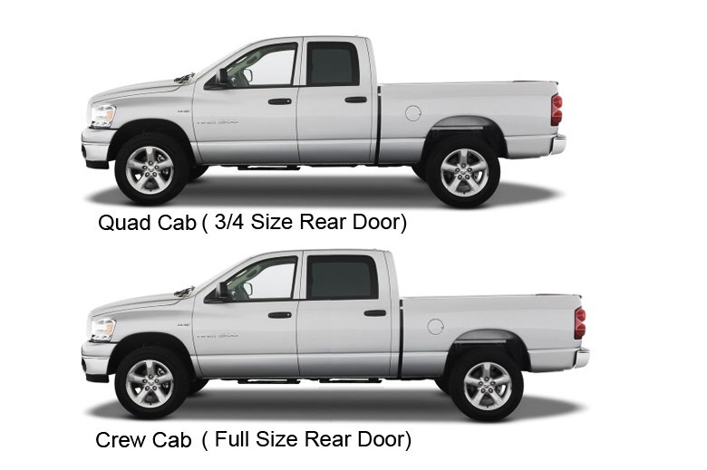 difference between dodge ram quad cab and crew cab autos post. Black Bedroom Furniture Sets. Home Design Ideas