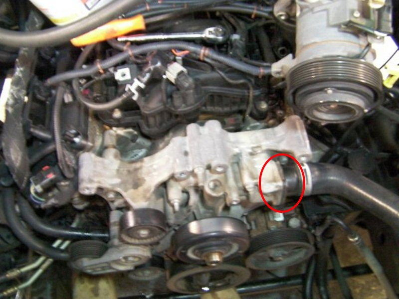 Ramthermostat Paint on 2004 Ford F 150 5 4 Timing Chain Marks