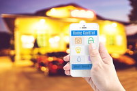control home features from smart phone