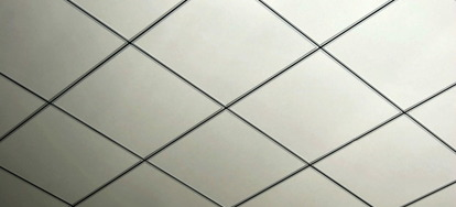 How to cut recessed ceiling tiles
