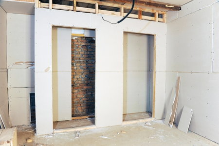 how to frame a basement for drywall