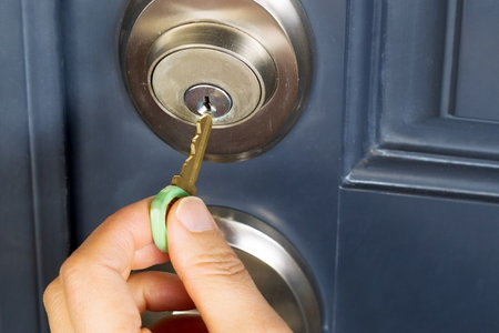 how to add a lock to a nightstand 2