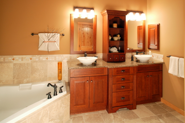 How to Install a Bathroom Vanity Light Fixture  DoItYourself.com