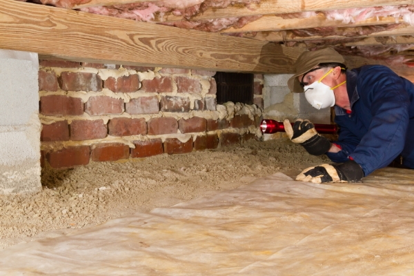 How To Install A Basement Vapor Barrier In A Crawl Space