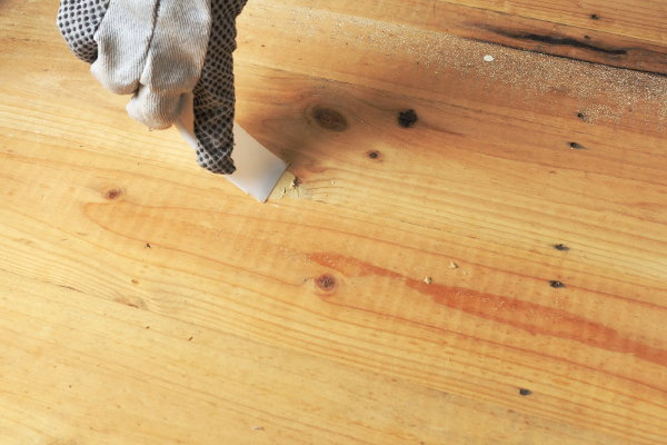 Wood Filler Plywood ~ How to paint an exterior staircase doityourself