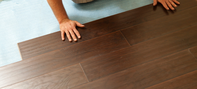 How To Stain Laminate Wood Flooring Doityourself Com