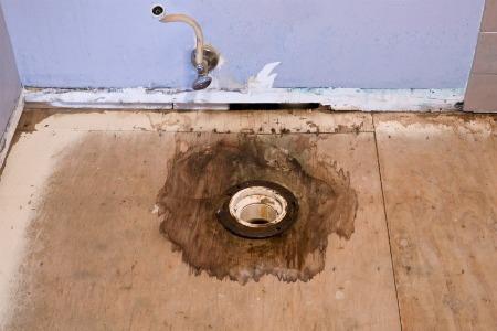 Kitchen Waste Pipe In Floor