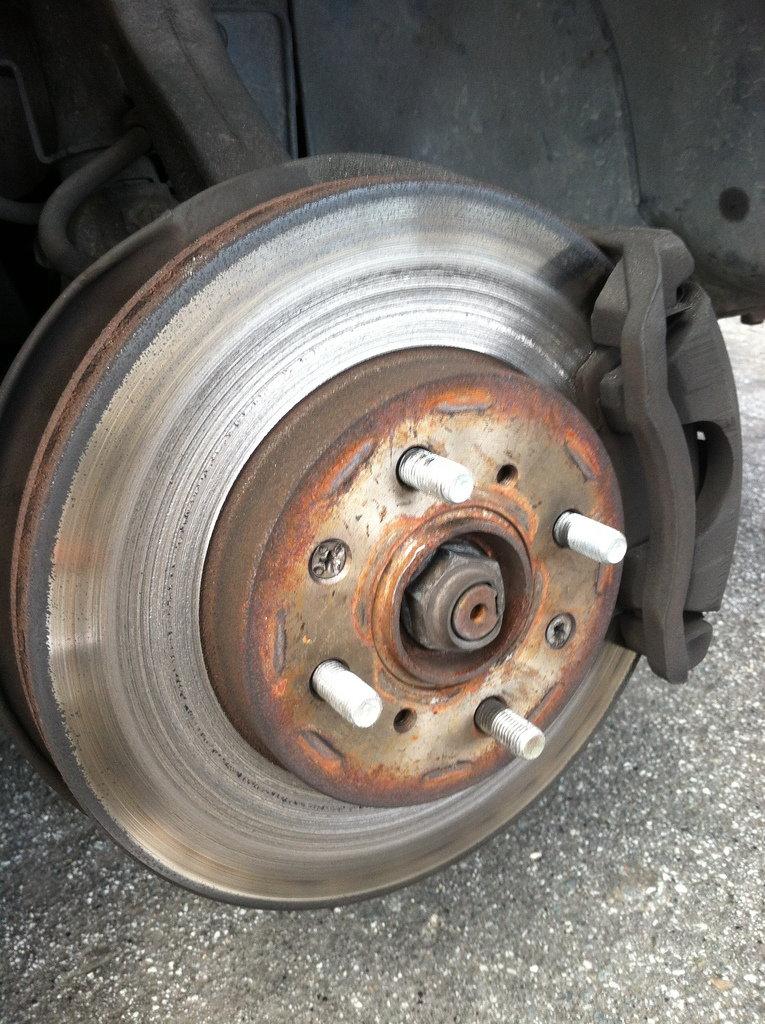 Car brake grind - 2 6