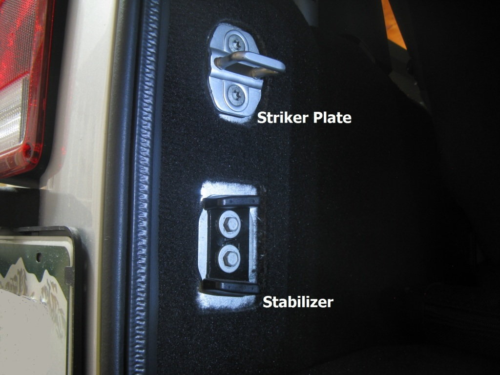 Jeep Wrangler Jk 2007 To Present How To Repair Tailgate