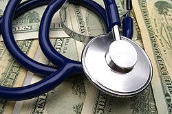 Stethescope and Money