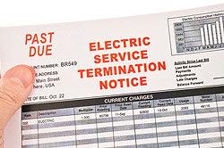 Electric Bill - Terminate Service