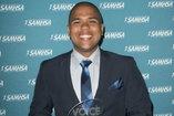 Joshua Calarino at the Voice Awards