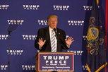 President-elect Donald Trump gives a speech