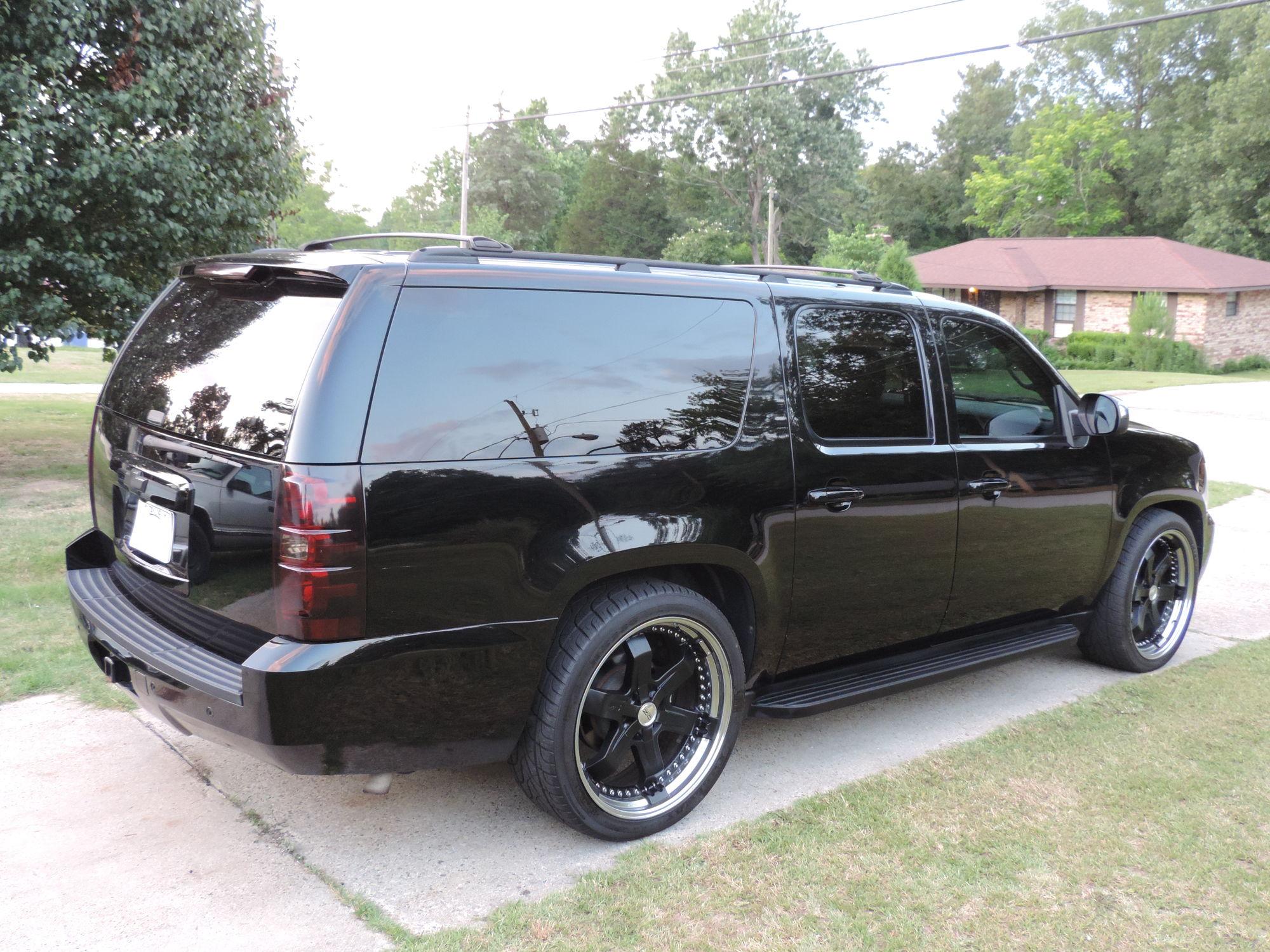 2007 Chevrolet Tahoe Ltz >> Blacked out 2008 Suburban LTZ - Chevrolet Forum - Chevy Enthusiasts Forums