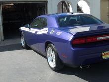 2010 Plum Crazy Challenger R/T Classic